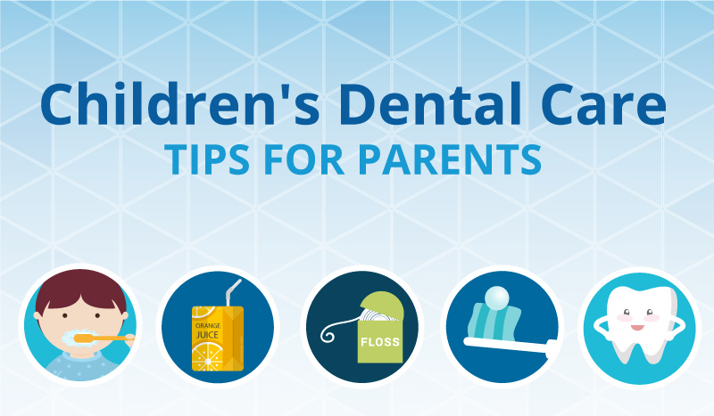 Children's Dental Care Tips for Parents [Infographic]